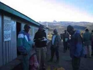 , Mt Kenya trekking Day 2